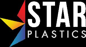 Star Plastics logo in white